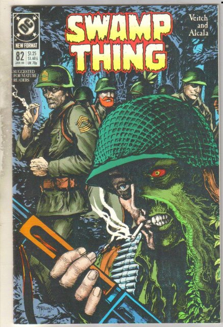 Swamp Thing #82 comic book mint 9.8