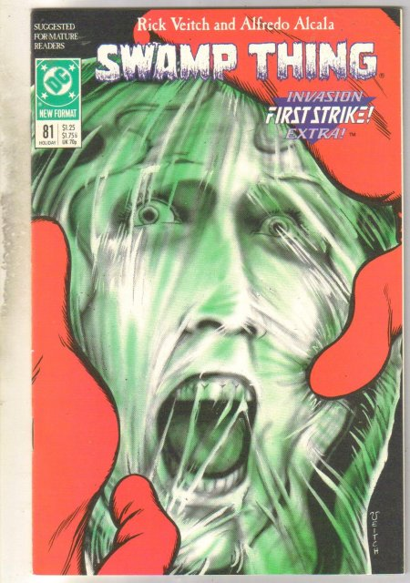 Swamp Thing #81 comic book mint 9.8
