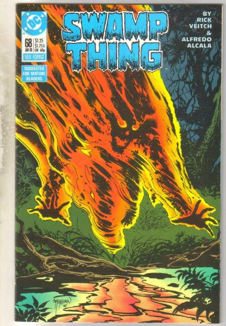 Swamp Thing #68 comic book mint 9.8