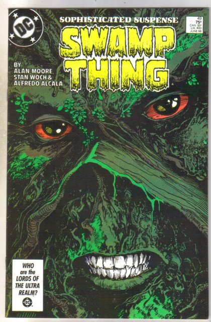 Swamp Thing #49 comic book near mint 9.4