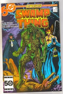 Swamp Thing #46 comic book near mint 9.4