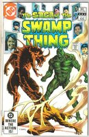 The Saga of the Swamp Thing #4 comic book near mint 9.4