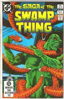The Saga of the Swamp Thing #6 comic book mint 9.8