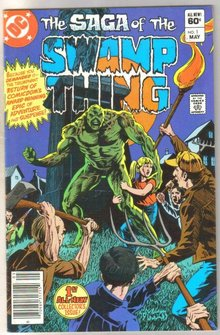 The Saga of the Swamp Thing #1 comic book very fine 8.0