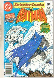 Detective Comics #522 comic book mint 9.8