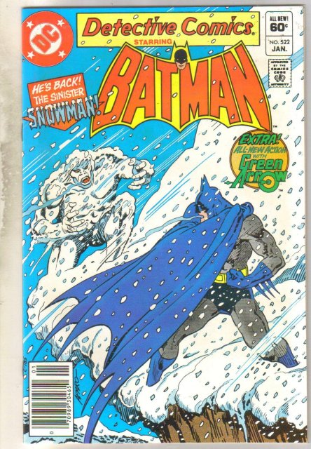 Detective Comics #522 comic book mint 9.8