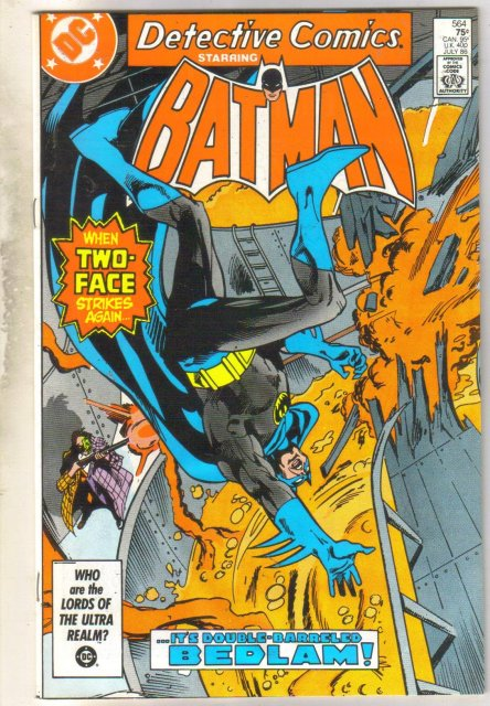 Detective Comics #564 comic book very fine 8.0