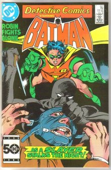 Detective Comics #557 comic book near mint 9.4