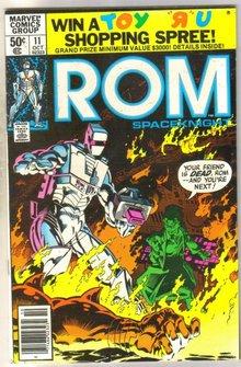 Rom #11 comic book near mint 9.4
