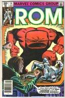 Rom #14 comic book very fine 8.0