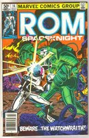 Rom #16 comic book near mint 9.4