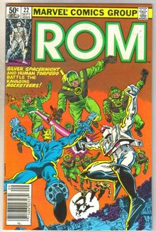 Rom #22 comic book near mint 9.4