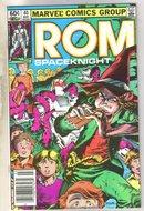 Rom #40 comic book near mint 9.4