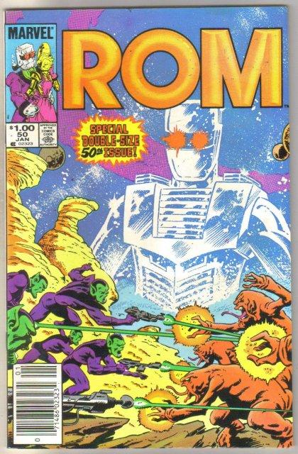 Rom #50 comic book near mint 9.4