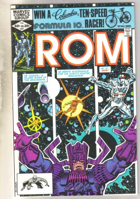 Rom #27 comic book near mint 9.4