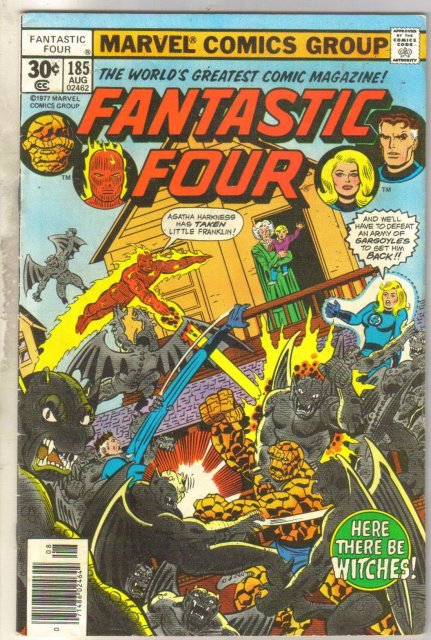 Fantastic Four #185 comic book fine 6.0