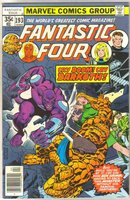Fantastic Four #193 comic book near mint 9.4