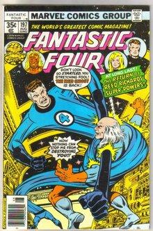 Fantastic Four #197 comic book very fine 8.0