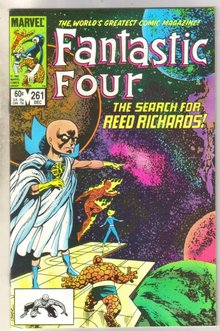 Fantastic Four #261 comic book near mint 9.4