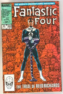 Fantastic Four #262 comic book near mint 9.4