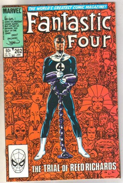 Fantastic Four #262 comic book near mint 9.4
