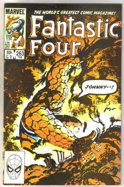 Fantastic Four #263 comic book near mint 9.4