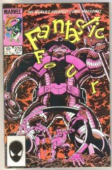 Fantastic Four #270 comic book mint 9.8