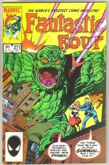 Fantastic Four #271 comic book mint 9.8