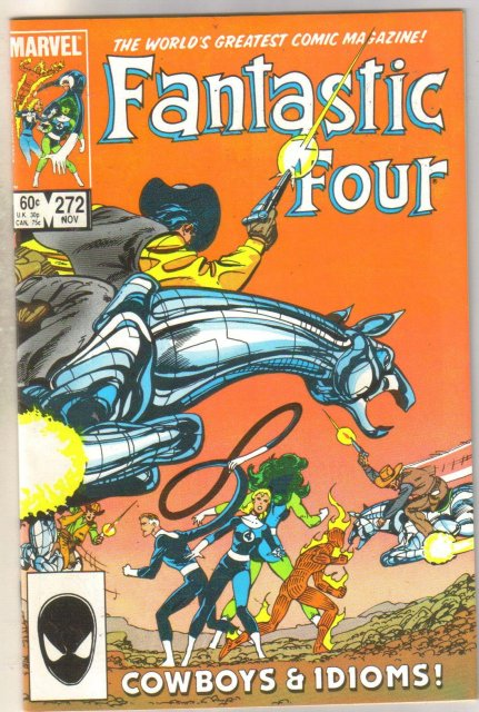 Fantastic Four #270 comic book near mint 9.4