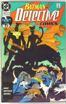 Batman in Detective comics #612 comic book near mint 9.4