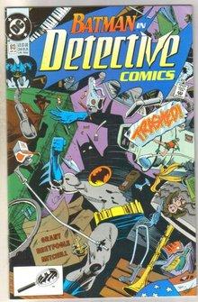 Batman in Detective comics #613 comic book near mint 9.4