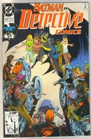 Batman in Detective comics #614 comic book mint 9.4
