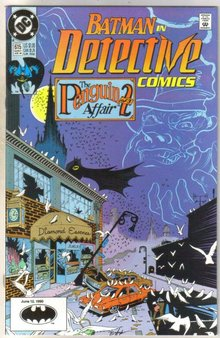 Batman in Detective comics #615 comic book near mint 9.4