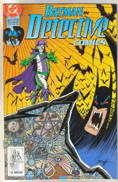 Batman in Detective comics #617 comic book near mint 9.4