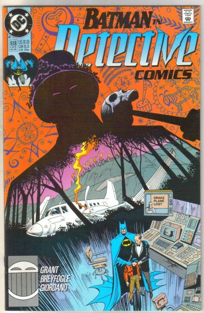 Batman in Detective comics #618 comic book mint 9.8