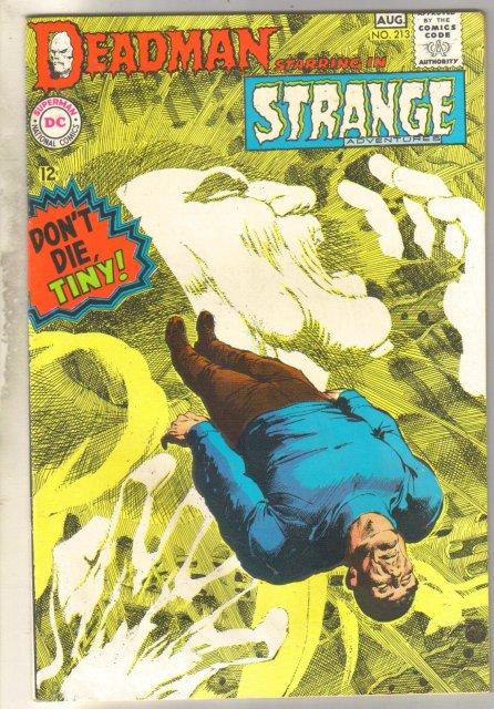 Deadman Starring in Strange Adventures #213 comic book very good 4.0