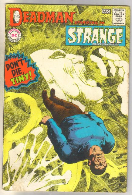 Deadman Starring in Strange Adventures #213 comic book fine/very fine 7.0