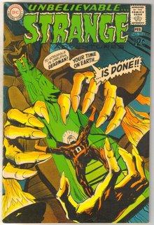 Deadman Starring in Strange Adventures #216 comic book very fine 8.0