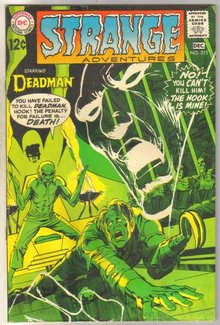 Deadman Starring in Strange Adventures #215 comic book good 2.0