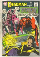 Deadman Starring in Strange Adventures #214 comic book good 2.0