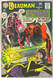 Deadman Starring in Strange Adventures #214 comic book very fine 8.0
