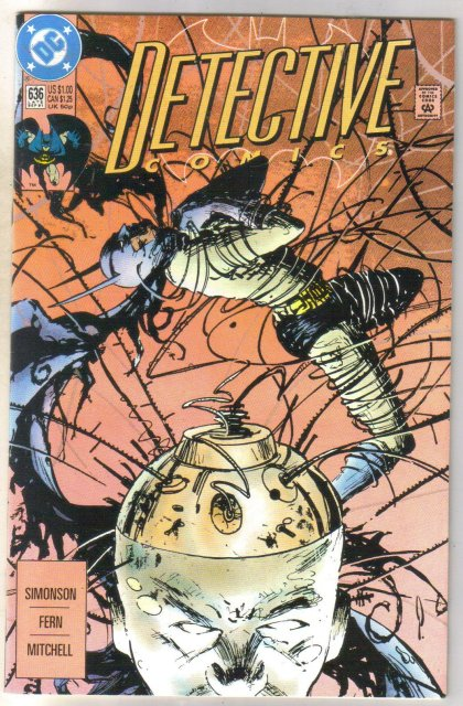 Detective Comics #636 comic book near mint 9.4
