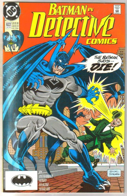 Detective Comics #622 comic book mint 9.8
