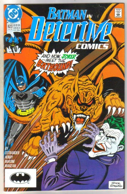 Detective Comics #623 comic book near mint 9.4