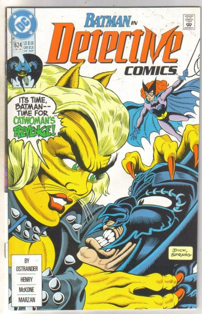 Detective Comics #624 comic book mint 9.8