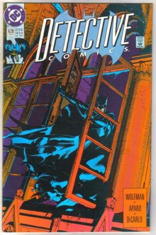 Detective Comics #628 comic book near mint 9.4