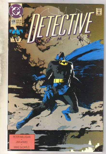 Detective Comics #638 comic book near mint 9.4