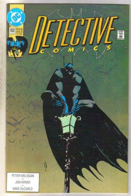 Detective Comics #632 comic book mint 9.8