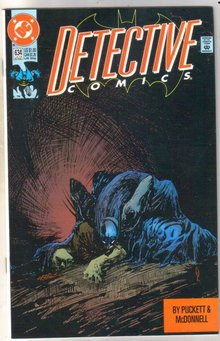 Detective Comics #634 comic book mint 9.8