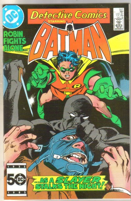 Detective Comics #557 comic book near mint 9.4